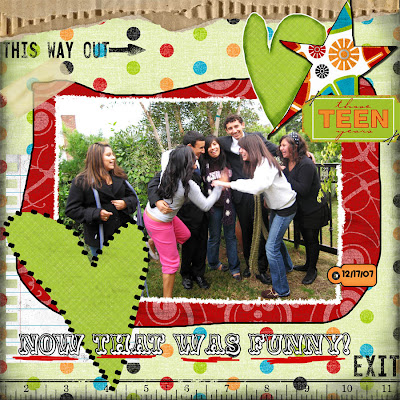 Layout by Susan Rodriguez for Everyday Digital Scrapbooking