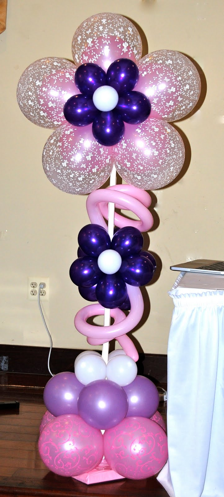 Korean 1st birthday dol decorations balloon decor for Balloon decoration ideas for 1st birthday