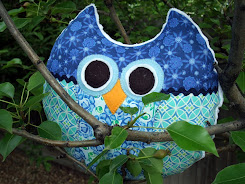 """Give A Hoot"" Pillow Tutorial"
