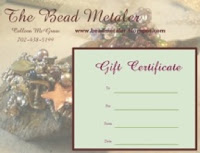 Gift Certificates Available for Beadmetaler Classes