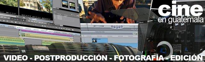 Cine, Postproducción, Web, Diseño Grafico, Fotografía