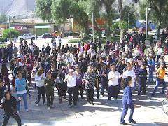 3.110 PERSONAS EN EL DIA DEL DESAFIO DEPORTIVO EN TIERRA AMARILLA