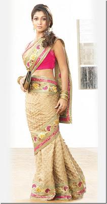 Nayanthara in Pothys Designer Sarees collections photos