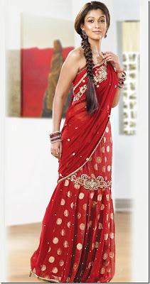 Pothys Designer Sarees collections