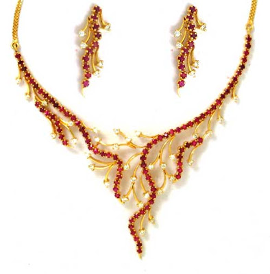 Ruby Necklace Sets