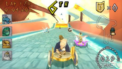 Heracles Chariot Racing PSP