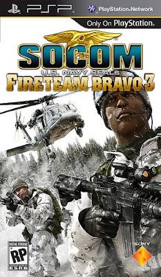 SOCOM: U.S. Navy SEALs Fireteam Bravo 3 PSP