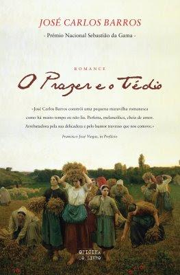 Capa do romance O PRAZER E O TÉDIO