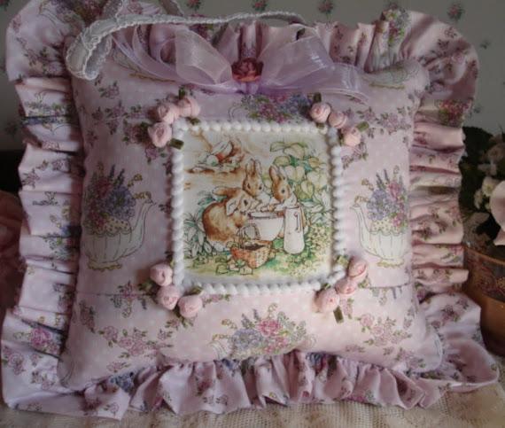Cuscino Beatrix Potter