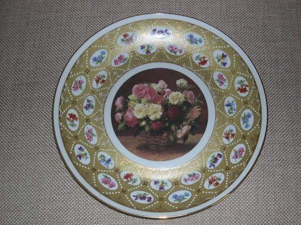 Piatto francese, porcellana LIMOGES