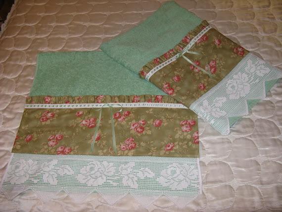 Asciugamani cottage inglese