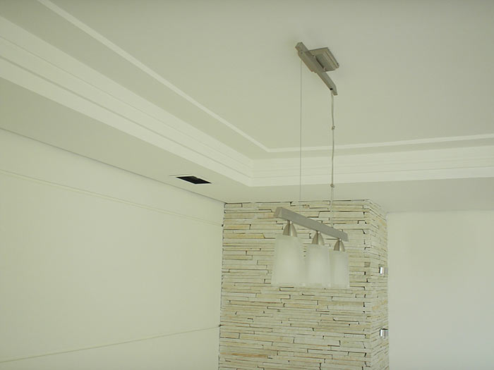 decoracao teto banheiro:Santa Sanca Decorações em Gesso, Drywall e Reformas, Residenciais e