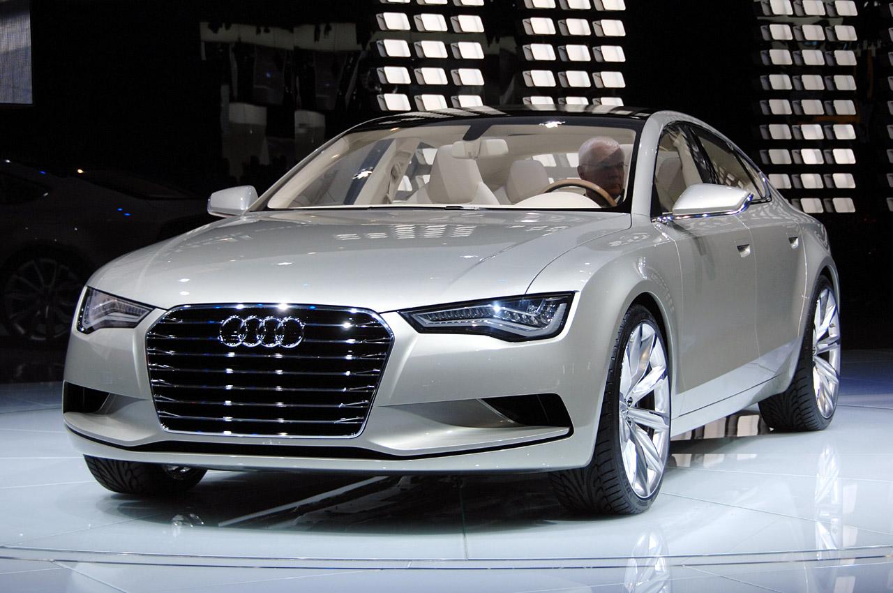 New Audi A7 Sportback concept.