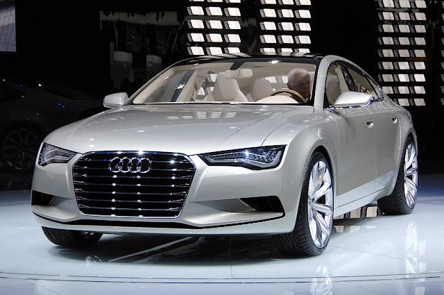 audi a7 blogspotcom. New Audi A7 Sportback concept.