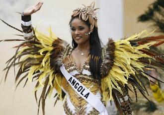 Micaela Reis - Miss Angola - 2007