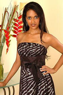 A miss Angola 2007