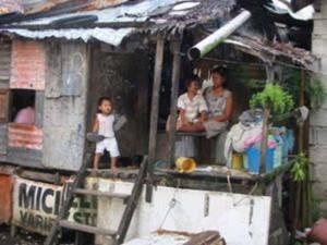 sa squatters area ganito ang itsura malayo sa bahay kubo o kahit sa