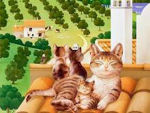 Gatti sul tetto che non scotta...
