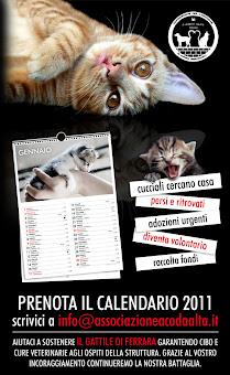 CALENDARIO DEL GATTILE DI FERRARA 2011