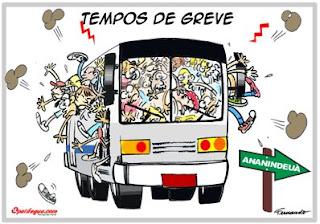 Passageiros protestam contra transporte público em São Sebastião