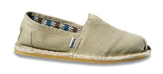 Toms Tan Canvas Stitchout