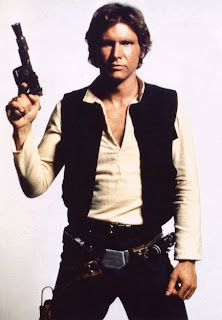 Harrison Ford as Star Wars' Han Solo