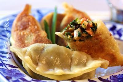Vegetable Potstickers & Steamed Dumplings