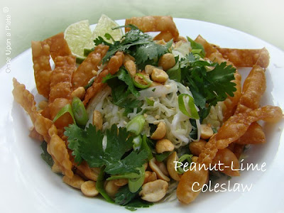 Once Upon a Plate: Peanut-Lime Coleslaw