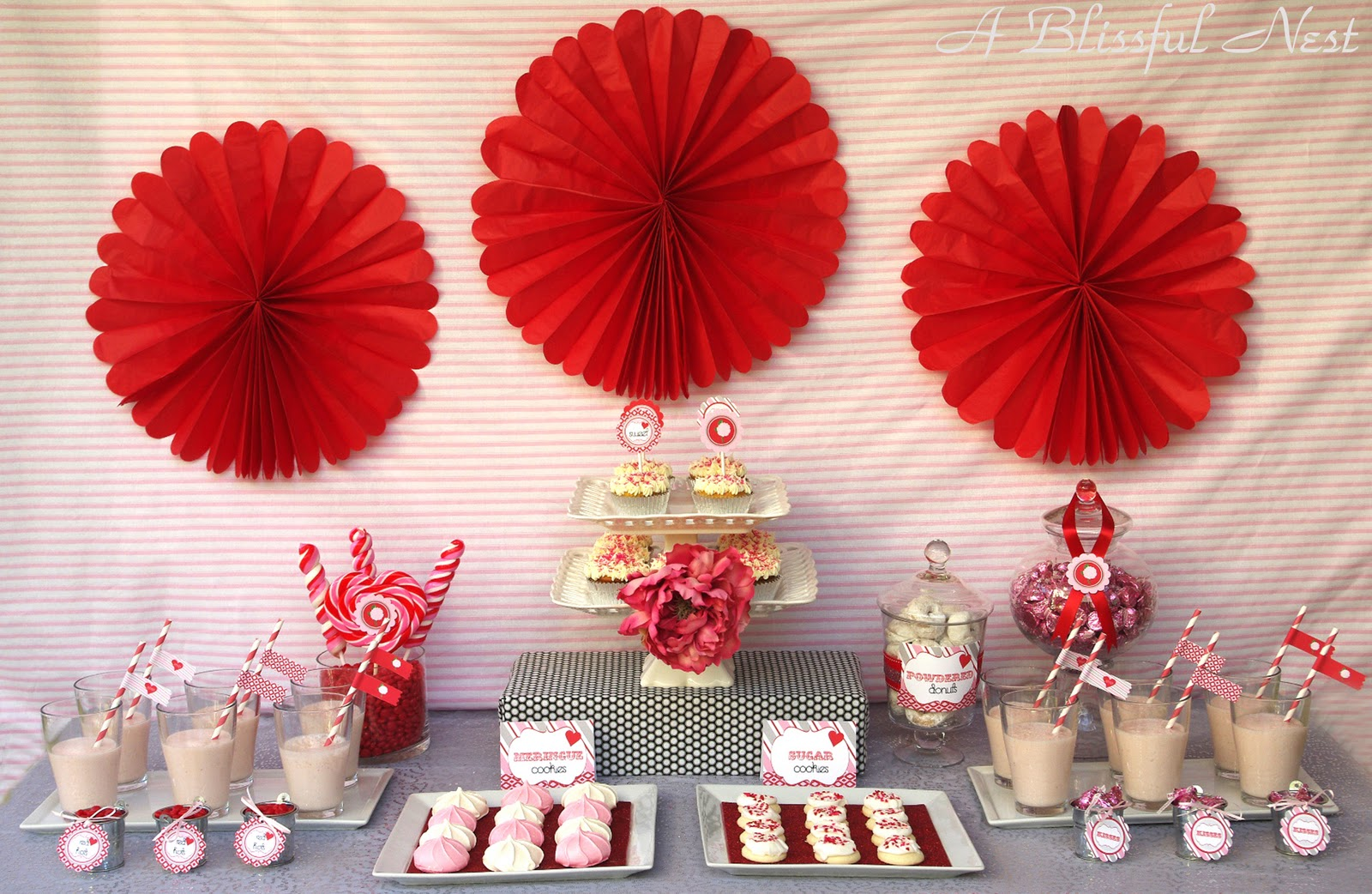 Vintage Sweet Valentines Inspiration Table By Blissful Nest A
