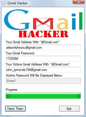 how to know fb password from gmail account