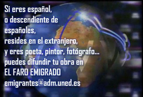 """PARTICIPA EN """"EL FARO EMIGRADO"""""""