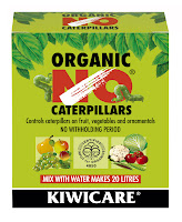 Organic NO Caterpillars BTK