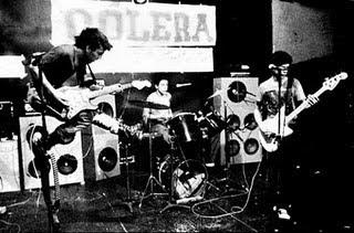 História da banda cólera, comentários de albums e discografia para download