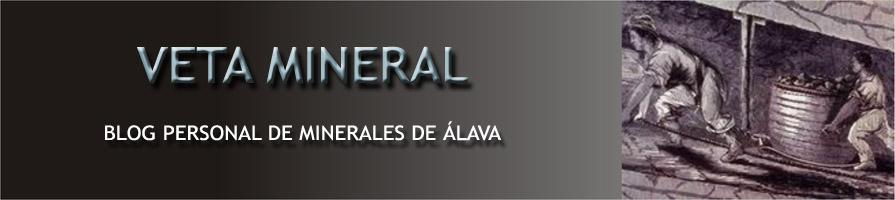 Veta Mineral - Minerales de Álava -
