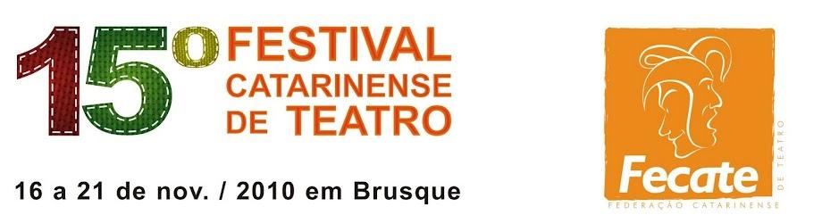 15º Festival Catarinense de Teatro