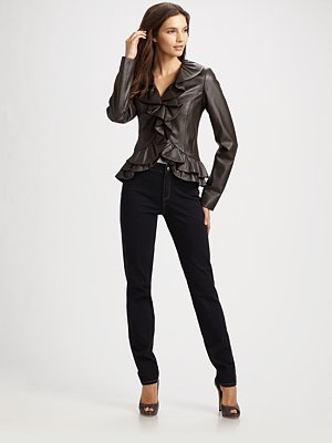 A Little More Beautiful: Fall Fashion Trend 2010: Leather Jackets