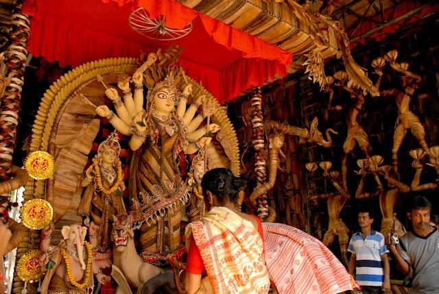 Shib Mandir, Durga Puja 2009