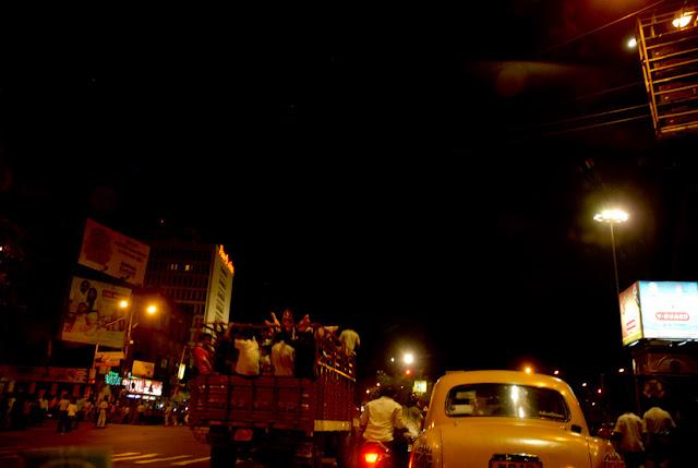 Esplanade, Calcutta - Durga Puja 2009, Nikon D200