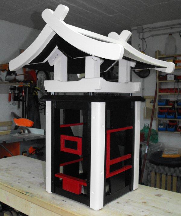 nunu s garn und stofflabor das vogelhaus hat nun endlich. Black Bedroom Furniture Sets. Home Design Ideas