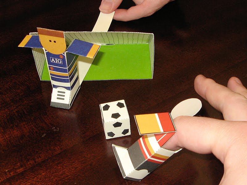 Finger Football Game Paper Foldables Blog