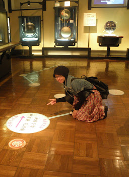 imma-san in national science museum UENO