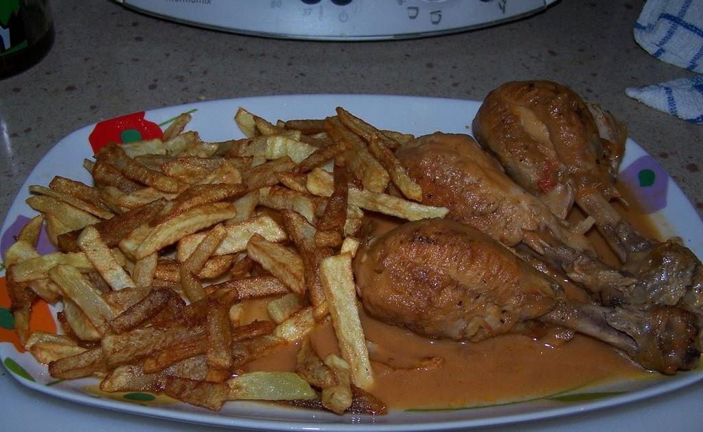 Cocianita muslitos de pollo en salsa - Muslitos de pollo ...