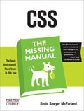 CSS The Missing Manual OReilly
