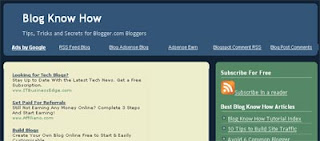 Blog Know How