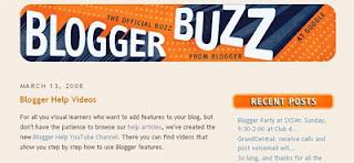 Blogger Buzz