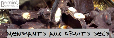 mendiants chocolat fruits secs linxe