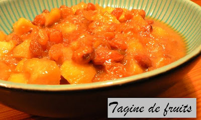 Tajine de fruits au rhum