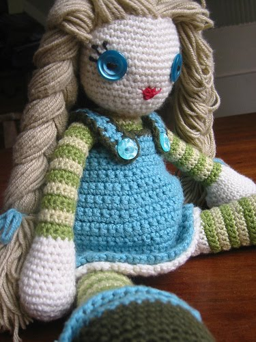 Crochet Doll Pattern Cute : Ziggy Crafts: Amigurumi Doll Pattern