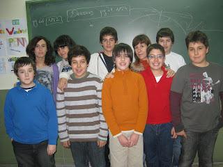 Alunos de Português no IES Augustóbriga