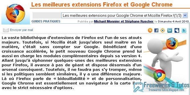 google chrome importer dossier pdf
